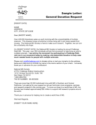 Sample Donation Letters General Donation Request Letter In Word And Pdf Formats