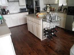Hardwood Floor Kitchen Finished Red Oak Hardwood Staining Wood