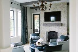living room elegant stone fireplace with flatscreen tv niche transitional living room picture of at photography chic cozy living room furniture