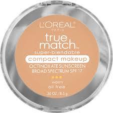 pact colors blendable powder l oreal paris true match super blendable pact makeup w7 caramel beige swatches
