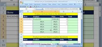 Make A List Com How To Make An Invoice From An External Product List In Excel