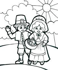 Pilgrim Boy And Girl Coloring Pages Pilgrim Coloring Pages Pilgrim