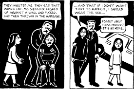 a literary analysis of persepolis by marjane satrapi uncult