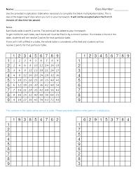 a blank multiplication tables 1 12 print free printable blank