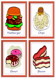 Food Flash Cards Fast Food Free Esl Efl Worksheets Made By Teachers For Teachers
