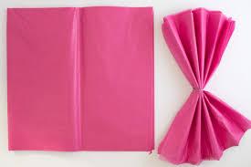 how to make tissue paper pom poms 3