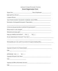 Registration Form Template Word Free Seminar Registration Form Template Word Templates Vendor