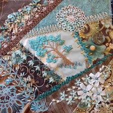 381 best Crazy quilting ideas images on Pinterest | Embroidery ... & I ❤ crazy quilting . Susan S, WI Sep- beautiful workmanship and great  colors! Adamdwight.com