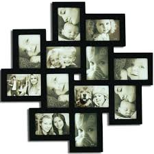 multiple picture frames wood. Adeco [PF0206] Decorative Black Wood Wall Hanging Collage Picture Photo Frame, 12 Openings, 4x6\ Multiple Frames T