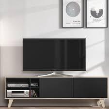 scandi style furniture. Agna Scandinavian Style TV Media Unit - Grey + Oak D Furniture Store Scandi