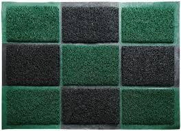 """<b>Коврик</b> придверный """"<b>Vortex</b>"""", <b>пористый</b>, цвет: черный, зеленый ..."""