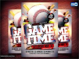 Free Baseball Flyer Template Baseball Flyer 25 Download In Vector Eps Psd
