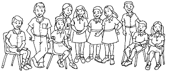 Small Picture Big family coloring pages
