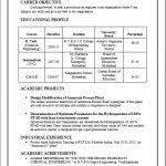 B Tech Civil Engineering Resume Fresher Format Template Ideas ...