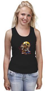 Майка классическая Хан Соло и Чубакка (<b>Mario</b> x <b>Donkey Kong</b> ...