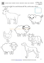 farm animals worksheets 18 farm animals worksheet activity sheet 18 on line of best fit worksheet