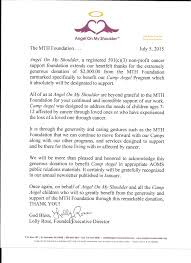 donations recipient letters mth aoms press release 001