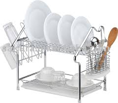 Kitchen Accessory House Kitchen Accessory Shape Metal Dish Rack Plate Rack Dish