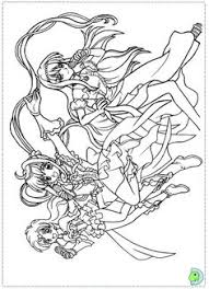 Small Picture Coloring page Colouring Pages Pinterest Mermaid melody