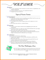Different Formats Of Resumes Fresh 25 Best Ideas About Free Resume