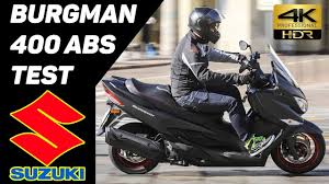 2018 suzuki 400. contemporary 400 new 2017 suzuki burgman 400 abs scooter test 4k for 2018 suzuki
