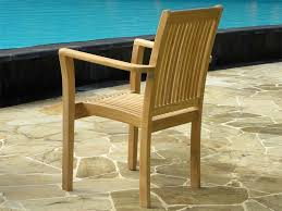 teak chair. View The Full Image Teak Stacking Chairs - Grenada Rear Chair