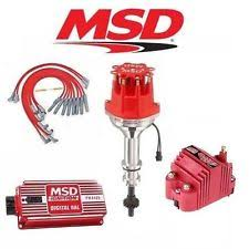 msd ignition kit ford msd 9124 ignition kit digital 6al distributor wires coil ford 351c m