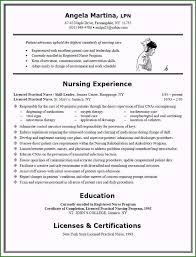 Resume For Nurses Templates 49 Excellent Free Resume Templates For Lpn Nurses You Must