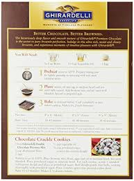 Ghirardelli Double Chocolate Brownie Mix Directions Brownie