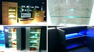 glass cabinet lighting. Outstanding Glass Cabinet Lighting Accentuate Cabinetry