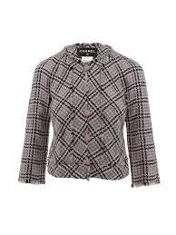 Chanel Geometric Tweed Jacket