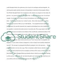 Animal Farm Essay The Principles And Objectives Discussed In Brave New World And