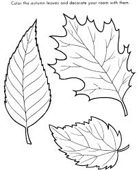 coloring pages coloring pages leaves autumn fall maple printable leaf color leafs free
