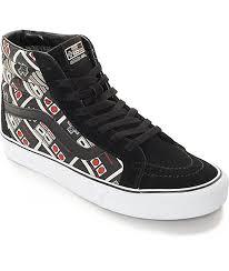 vans x nintendo. vans x nintendo sk8-hi controller skate shoes 1