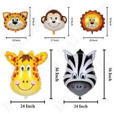 Buy 98 Pcs <b>Jungle Party Balloons</b> Decoration Kit <b>Safari Animal Party</b> ...