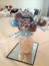 Decorating With Mason Jars For Baby Shower Mason Jar Centerpieces for Baby Shower Cake Pops in Mason Jars 25