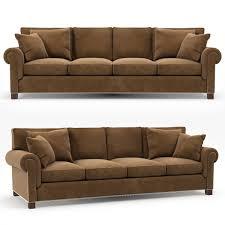 Ralph Lauren Living Room Furniture 3d Model Ralph Lauren Jamaica Sofa Vr Ar Low Poly Max Obj Fbx