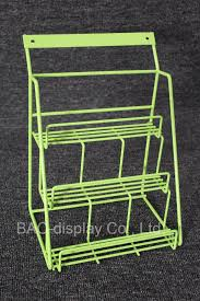 supermarket chic small countertop metal wire snack shelf candy display rack