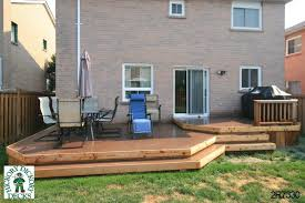 low 2 level deck 2r7330