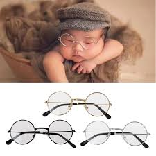 <b>Newborn</b> Infants <b>Photography Props</b> Flat Glasses <b>Baby</b> Studio ...