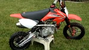 fully modified honda crf50 117cc pitbike youtube