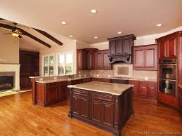 cherry wood pantry cabinet 90 best cherry color kitchens images on