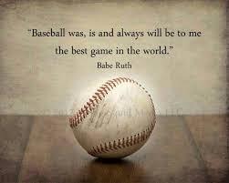Baseball Life Quotes