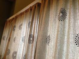 Diy Drop Cloth Curtains Drop Cloth Curtains 2 Ways