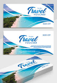 travel voucher template free free gift certificate templates for photoshop psd by