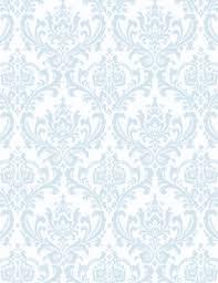 Blue Damask Wallpaper on WallpaperSafari