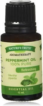 Nature's Truth <b>Essential Oil</b> - 100% <b>Pure Peppermint</b> Oil | <b>Pure</b> ...