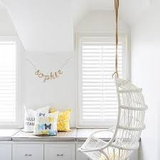 hanging chairs for girls bedrooms. Brilliant Chairs White Cottage Teen Girl Room With Hanging Rattan Chair And Chairs For Girls Bedrooms