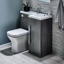 Sink And Toilet Combo Gabrielle 900mm Spacesaving Combination Bathroom Toilet Sink