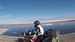 Deena North Slope outside Prudhoe Bay - YouTube